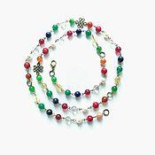 Украшения handmade. Livemaster - original item Beads amulet Navaratna. Handmade.