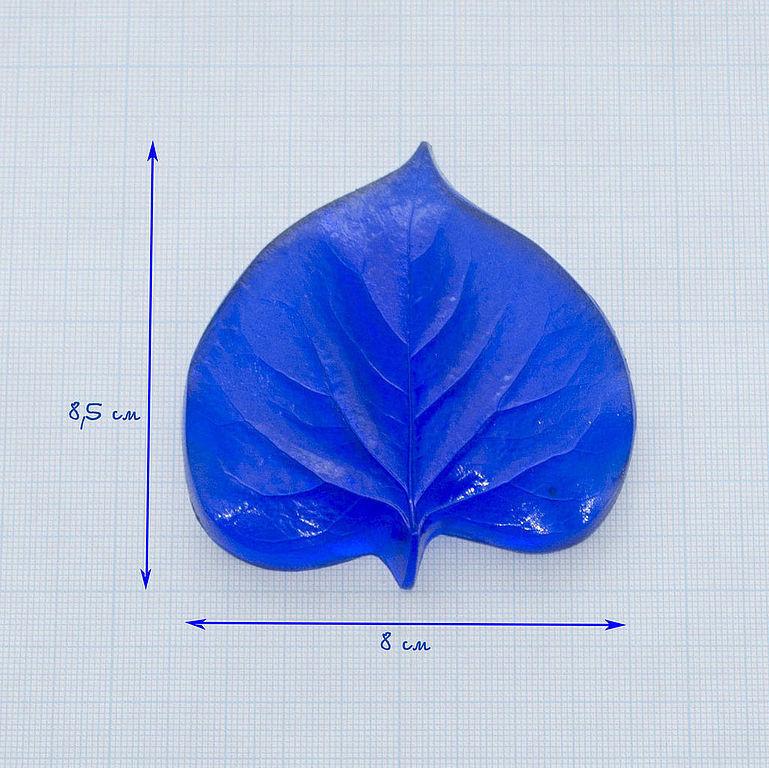 М092 Молд лист сирени большой