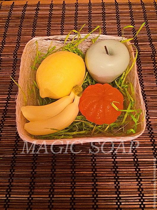 Мыло ручной работы. Ярмарка Мастеров - ручная работа. Купить фруктовая корзина. Handmade. Мыло ручной работы, Мыло фруктовое