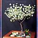Деревья ручной работы. Ярмарка Мастеров - ручная работа. Купить Дерево из натурального зеленого граната. Handmade. Бонсай, поделочный камень