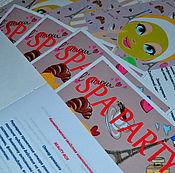 Дизайн и реклама ручной работы. Ярмарка Мастеров - ручная работа Тематическая вечеринка ( SPA Party ). Handmade.