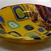 """Посуда ручной работы. Ярмарка Мастеров - ручная работа Тарелочки """" Климтовые """". Handmade."""