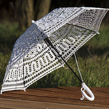 Свадебный салон ручной работы. Ярмарка Мастеров - ручная работа Свадебный зонтик. Handmade.
