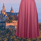Одежда ручной работы. Ярмарка Мастеров - ручная работа Пепельная роза юбка из джерси. Handmade.