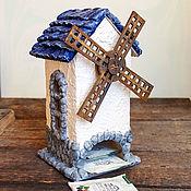 """Домики ручной работы. Ярмарка Мастеров - ручная работа Чайный домик """"мельница"""". Handmade."""