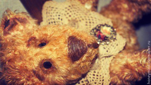Мишки Тедди ручной работы. Ярмарка Мастеров - ручная работа. Купить Мишка Тедди Гамлет. Handmade. Коричневый, винтажный мишка