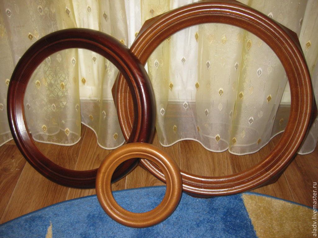 Рамка для вышивки из дерева