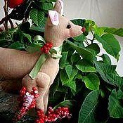 Куклы и игрушки ручной работы. Ярмарка Мастеров - ручная работа Олененок Бэмби в стиле тильда. Handmade.