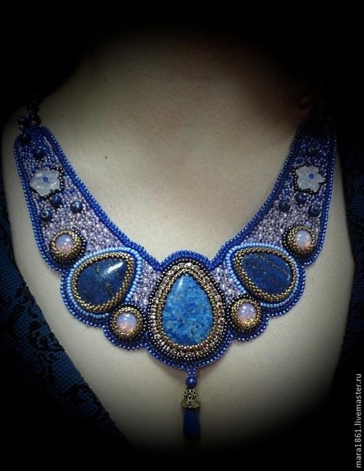 """Кулоны, подвески ручной работы. Ярмарка Мастеров - ручная работа. Купить Ожерелье """"Подарок богов"""". Handmade. Ожерелье, колье с камнями"""