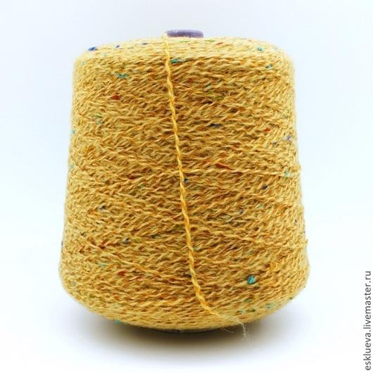 Вязание ручной работы. Ярмарка Мастеров - ручная работа. Купить Альпака твидовая. Handmade. Твидовая пряжа, пряжа Италия, пряжа