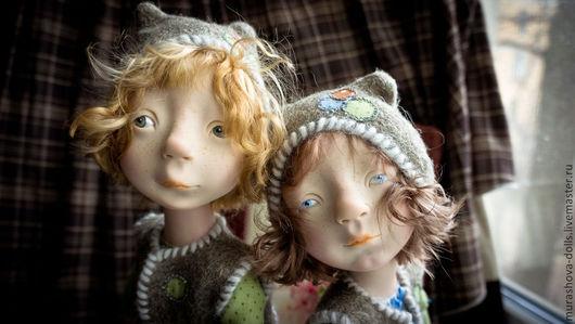 Коллекционные куклы ручной работы. Ярмарка Мастеров - ручная работа. Купить Гензель и Гретель. Handmade. Зеленый, living doll