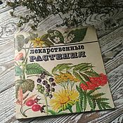 """Винтаж ручной работы. Ярмарка Мастеров - ручная работа Книга """"Лекарственные растения"""" Ботаника.. Handmade."""