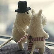 Куклы и игрушки ручной работы. Ярмарка Мастеров - ручная работа Муми-тролли. Handmade.