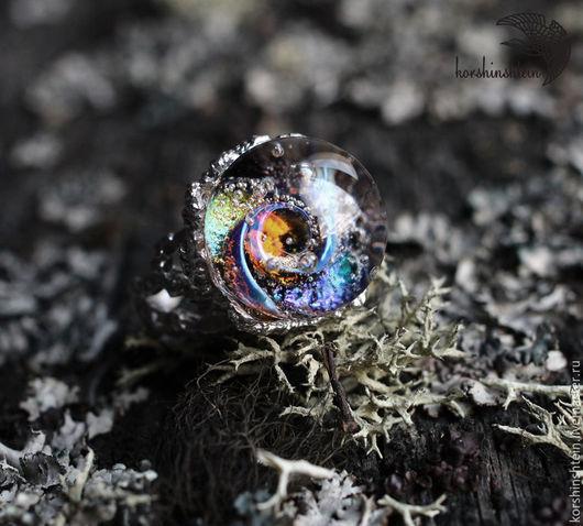 """Кольца ручной работы. Ярмарка Мастеров - ручная работа. Купить Кольцо """"Далекие звезды"""" из серии """"Гнезда химер"""". Handmade. Кольцо"""