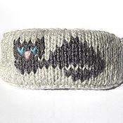 """Украшения ручной работы. Ярмарка Мастеров - ручная работа Заколка для волос """"Мечтающий кот"""". Handmade."""