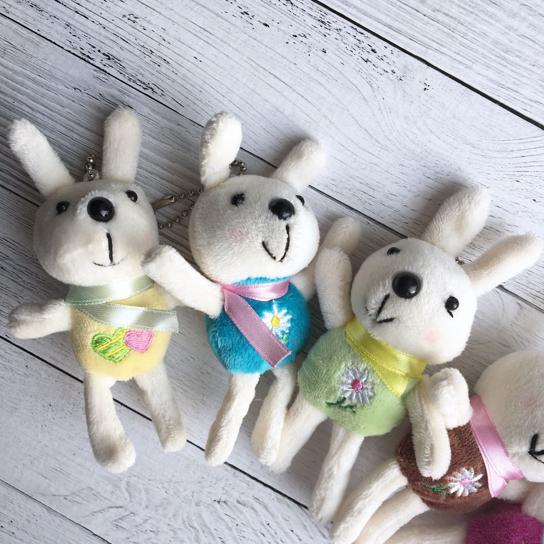 Зайчики кролики (мини-игрушка брелок) 11см, Мягкие игрушки, Нижний Новгород,  Фото №1
