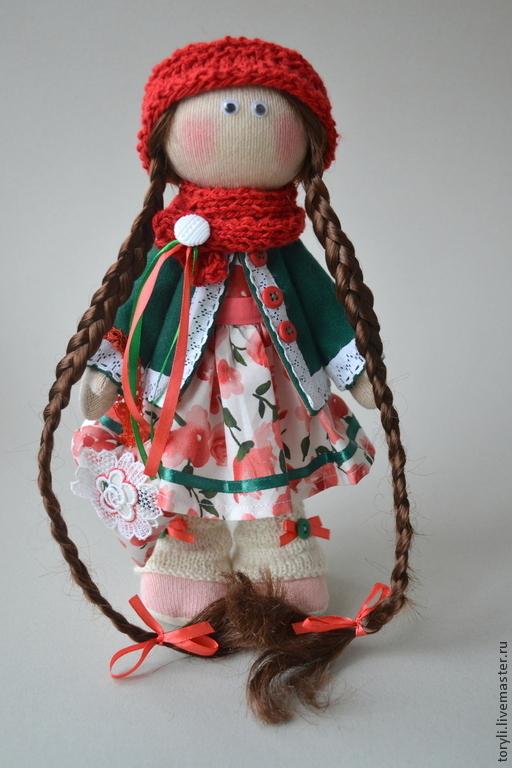 Коллекционные куклы ручной работы. Ярмарка Мастеров - ручная работа. Купить Текстильная кукла Иришка. Handmade. Кукла, авторская кукла