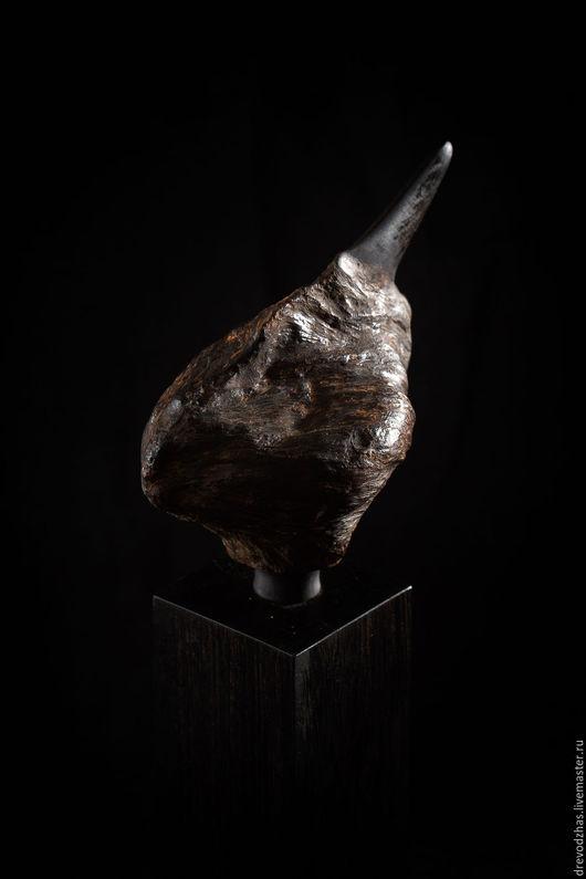 Элементы интерьера ручной работы. Ярмарка Мастеров - ручная работа. Купить Скульптура из Агарового дерева «Гонгилус». Handmade. Скульптура, агар