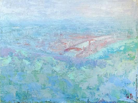 Вид на центр Вероны с одного из городских холмов.