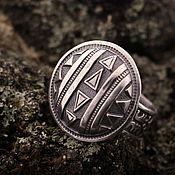 """Украшения ручной работы. Ярмарка Мастеров - ручная работа """"Африка"""" серебряное кольцо. Handmade."""