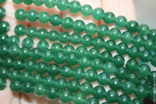 Для украшений ручной работы. Ярмарка Мастеров - ручная работа. Купить Кварц  зеленый тонированный, 5.5 мм и 11.5 мм. Handmade.