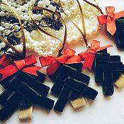 Для дома и интерьера ручной работы. Ярмарка Мастеров - ручная работа Праздничные елочки для главного праздника года.. Handmade.