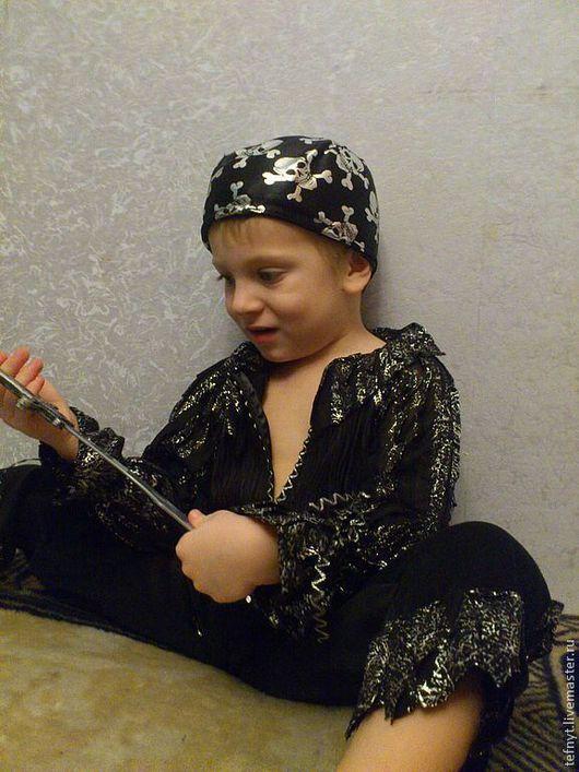 """Детские карнавальные костюмы ручной работы. Ярмарка Мастеров - ручная работа. Купить Костюм """"Корсар"""". Handmade. Черный"""