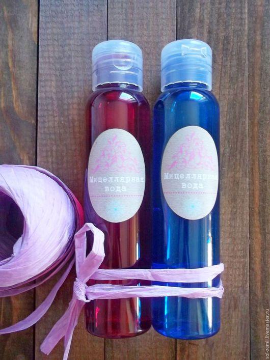 Для снятия макияжа ручной работы. Ярмарка Мастеров - ручная работа. Купить Нежная, мицеллярная вода, увлажняющая для чувствительной кожи. Handmade.