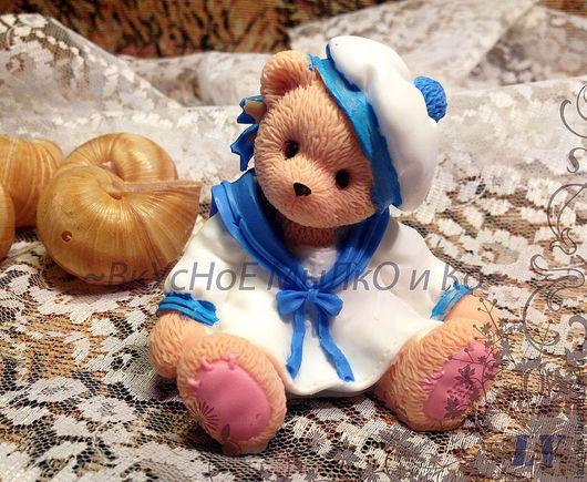 """Мыло ручной работы. Ярмарка Мастеров - ручная работа. Купить Мыло для рук """"Тедди морячок"""". Handmade. Cherished teddy"""