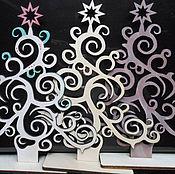 Подарки к праздникам handmade. Livemaster - original item Herringbone openwork stand. Handmade.