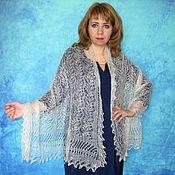 Аксессуары handmade. Livemaster - original item Lace shawl,wedding shawl,white scarf,hand knit shawl,warm wrap. Handmade.