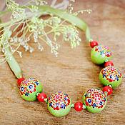 Украшения handmade. Livemaster - original item Necklaces for daughters. Handmade.