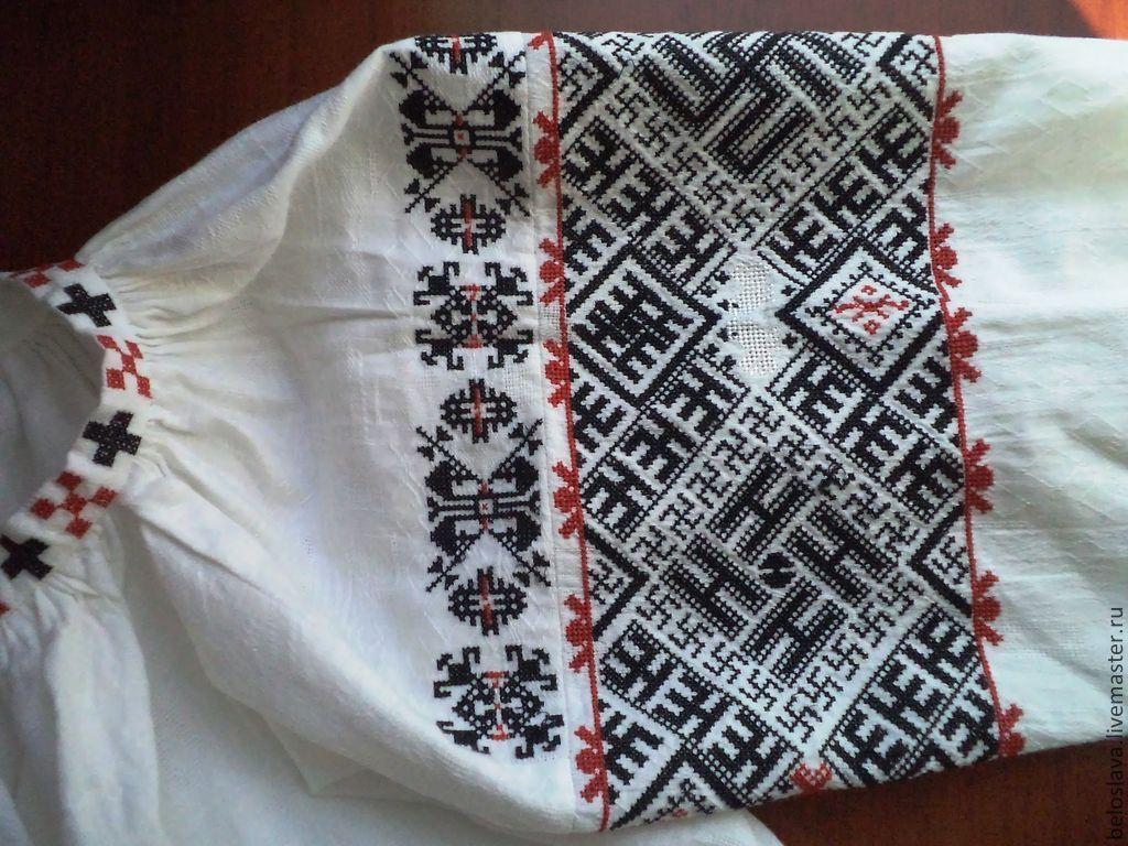 Вышивка для славянской рубахи 997