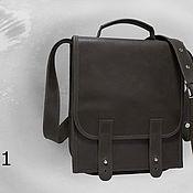Сумки и аксессуары handmade. Livemaster - original item Mens leather bag - tablet. Handmade.