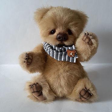 Куклы и игрушки ручной работы. Ярмарка Мастеров - ручная работа Мишка Карамель,18 см сидя.. Handmade.