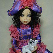 Куклы и игрушки ручной работы. Ярмарка Мастеров - ручная работа Коломбина Лоли. Handmade.