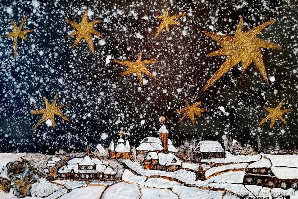 Ночь перед Рождеством. Загадай желание и оно сбудется!, Картины, Киев,  Фото №1