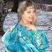 Одежда handmade. Livemaster - original item Batik silk tunic poncho