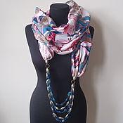 Аксессуары handmade. Livemaster - original item scarf-necklace 324 wool, viscose. Handmade.