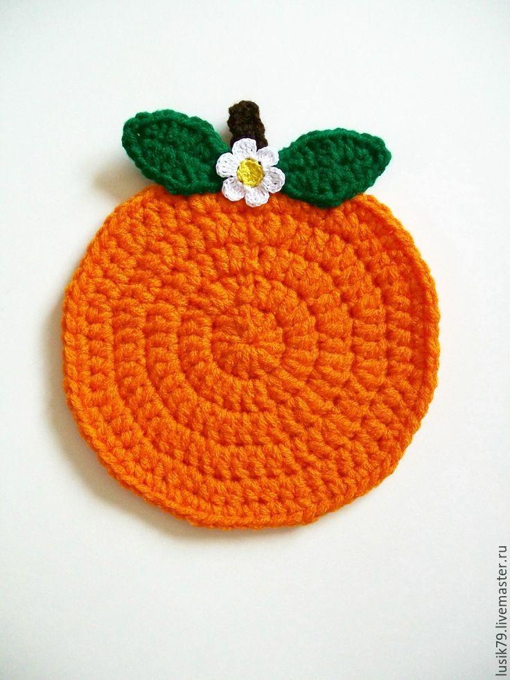 Прихватка апельсин