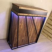 Столы ручной работы. Ярмарка Мастеров - ручная работа Стойка ресепшн в стиле LOFT. Handmade.