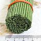100 шт Проволока зеленая 2 мм, 50 см my Thai материалы для флористики из Таиланда