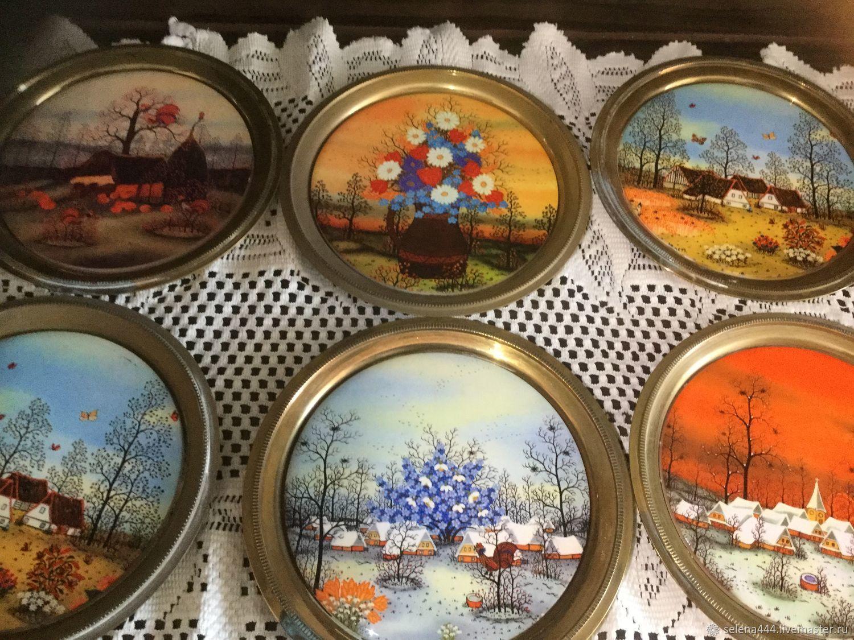 Винтаж: Яркие времена года Англия, Винтажные предметы интерьера, Москва, Фото №1