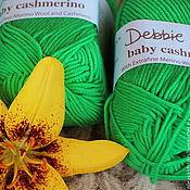 Материалы для творчества handmade. Livemaster - original item Debbie Bliss Baby Cashmerino Emerald. Handmade.