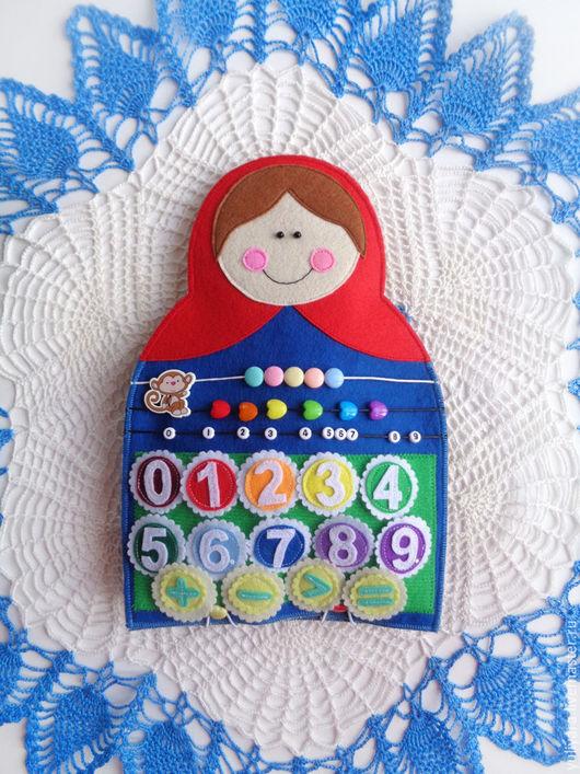 """Развивающие игрушки ручной работы. Ярмарка Мастеров - ручная работа. Купить Развивающий игровой набор  - """"Матрешки"""". Handmade. Комбинированный, развивашки"""