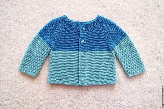 """Одежда для девочек, ручной работы. Ярмарка Мастеров - ручная работа. Купить Кофточка """"Небесная"""". Handmade. Голубой, работы для детей"""