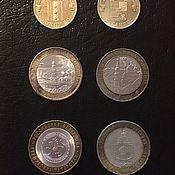 Винтаж ручной работы. Ярмарка Мастеров - ручная работа Юбилейные монеты (2000-е). Handmade.