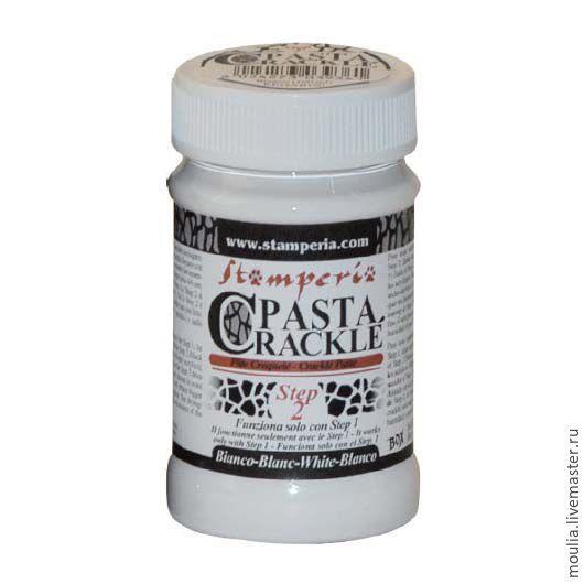 Паста `Кракле`, белый, компонент №2 Арт KE16AB100  100 мл    430 руб   5/0