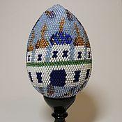 Сувениры и подарки handmade. Livemaster - original item Egg on stand Easter No. №6. large. Handmade.
