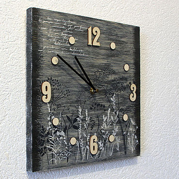 For home and interior handmade. Livemaster - original item Wall clock